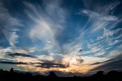 AtmosFEAR. (NVOXVII) Tags: sky sunset atmosphere clouds nature beauty strong treeline silhouette colours dorset summer dusk moody stunning spiritual
