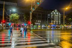 Szczecin (nightmareck) Tags: szczecin zachodniopomorskie polska poland europa europe fotografianocna bezstatywu night handheld fujifilm fuji xe1 apsc xtrans xmount mirrorless bezlusterkowiec xf18mm xf18mmf20r fujinon pancakelens rain deszcz