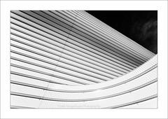 Outlined II (Frank Hoogeboom) Tags: white black monochrome architecture modern dark hall utrecht contemporary gym nieuw welgelegen turnzaal