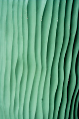 CW135 Wavy Sculpture (listentoreason) Tags: sculpture usa color green art museum america canon newjersey unitedstates favorites places mercercounty groundsforsculpture ef28135mmf3556isusm score25