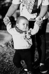 Garden Walk (golden hour) (FranciscoEvangelista) Tags: baby garden mom 50mm golden nikon walk daughter hour d7100 f18g