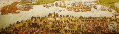 'Battle of the Solent' -  The Cowdray Picture DSC00431.JPG (Chris Belsten) Tags: england painting ship navy solent naval invasion englishhistory cowdray navalhistory tudorhistory battleenglishnavalbattles frenchdisaster