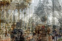 Sous la Tour (Alessio Trerotoli) Tags: abstract paris france tower eiffel toureiffel trerotoli urbanmelodies