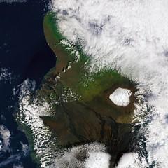 Hawaiian Blizzard (sjrankin) Tags: snow volcano hawaii edited nasa observatory blizzard noaa usgs maunakea observatories 13march2015