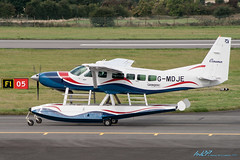 G-MDJE Cessna 208 Caravan I Untitled (kw2p) Tags: canon aircraft cessna untitled canoneos400ddigital gmdje kennywilliamson 208caravani kw2p cn20800336