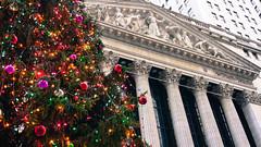 Wall St Xmas (danholl18) Tags: christmas christmastree wallstreet newyorkstockexchange