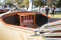 Early 20th century Mercedes luxury. (God_speed) Tags: 1920s car mercedes glasses open crystal champagne
