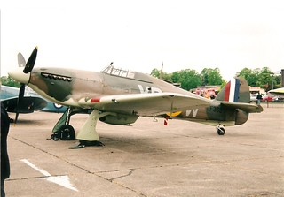 Hurricane MkIIc LF363 BBMF. BBMF 50TH Duxford 05-05-07