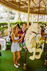 1996_10~001 (If you didn't film it, it didn't happen!) Tags: california 1996 indoor photograph amusementpark sixflagsmagicmountain losangelescounty amusementride ellenmiller tabithamiller