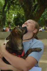 Patas Dadas (daysgabi) Tags: brazil people dog baby cute love co dogs nature beautiful animal animals brasil happy costume day amor portoalegre redeno happiness sunny cachorro ces brazilian trick bicho riograndedosul patasdadas
