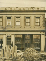 Northern Emporium, corner of King and Dundas Streets, 1926 (Dunedin City Council Archives) Tags: historic shops dunedin