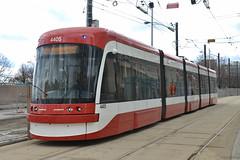TTC #4405 on the 509 Harborufront (SteveC123!) Tags: new ttc outlook streetcar flexity