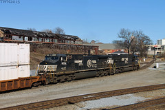 NS 222 at Howell Wye with SD60M & OLS (travisnewman100) Tags: ns norfolk 9 southern dash ge ols emd sd60m