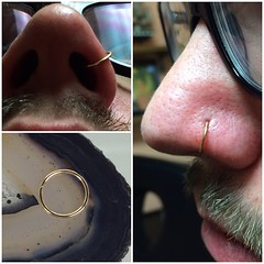 Nostril Piercing by Taylor Bell