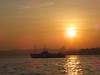 Bosphorus sunset (CyberMacs) Tags: morning sunset sea sun sunshine weather silhouette night sunrise turkey other muslim islam religion places istanbul mosque törökország cami deniz byzantine bosphorus islamic boğaz camii bosporus eminönü constantinoble othernames türkiyeship