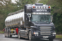 Scania T500 Woffy W10 FFY (SR Photos Torksey) Tags: road truck transport lorry commercial vehicle tanker scania haulage hgv t500 woffy