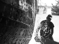 Gujarat 2014 (hunbille) Tags: india yard ship ships shipyard gujarat dhow kutch mandvi mandavi cy2 katch kaatch kaachchh