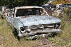 Holden HR Special (jeremyg3030) Tags: cars abandoned yard junk special hr holden wrecking cooma flynns
