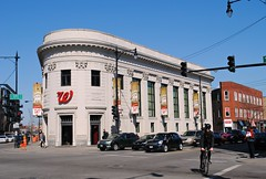Former Noel State Bank (Cragin Spring) Tags: city urban usa wickerpark chicago building corner illinois midwest unitedstates unitedstatesofamerica chitown bank il northside walgreens oldbuilding chicagoillinois chicagoil forgottenchicago noelstatebank