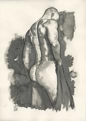 2015 04 10 Etude nu homme 01 (karl_nemo1954) Tags: nu dessin homme encre