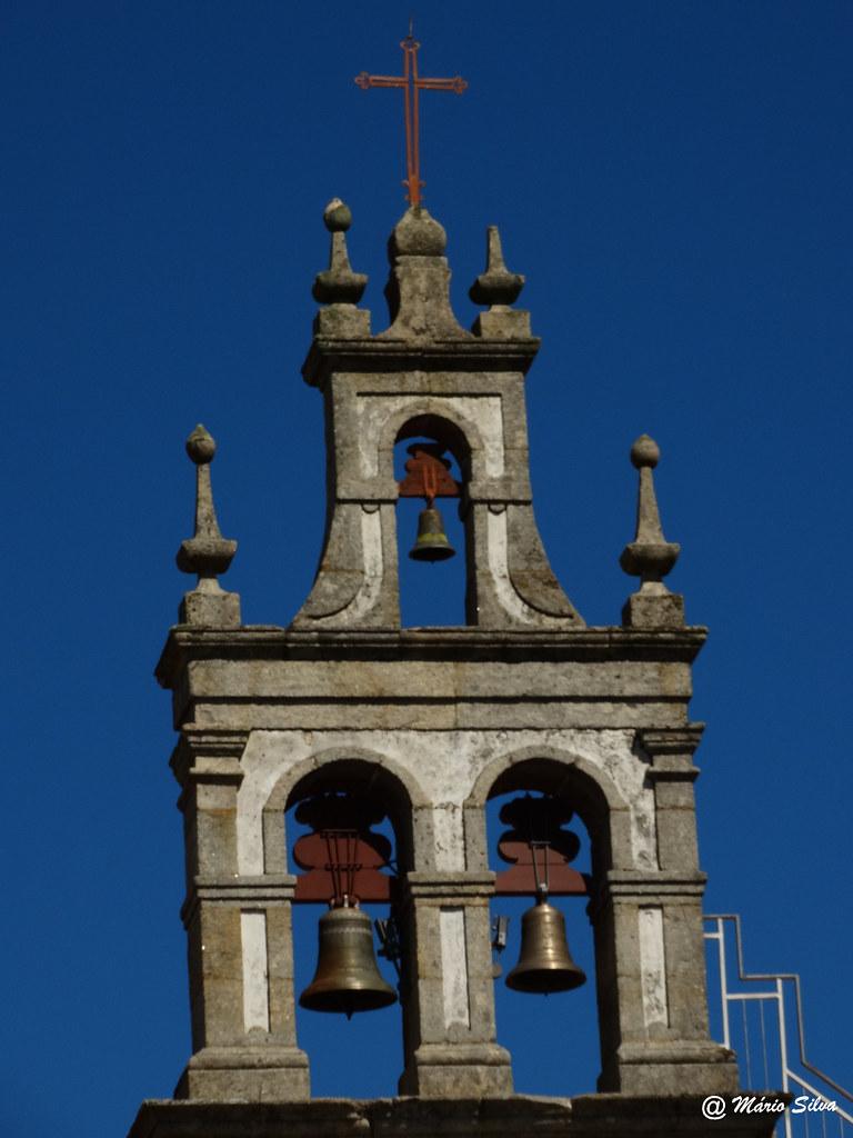 Águas Frias (Chaves) - torre sineira da igreja matriz