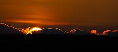 A simple sunset (John P Norton) Tags: sunset orange f80 shutterpriority 11250sec lumixgvario100300f456 focallength286mm olympusem1 copyright2015