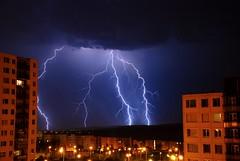 Storms lightning, Brno (Jiri Sigmund) Tags: storm nikon brno lightning lightening sigmund stormslightning d80 jisigmund jirisigmund siors