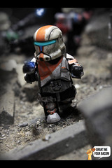 RC-1138 | Boss (Grant Me Your Bacon!) Tags: boss trooper republic delta sev wars squad custom clone commando scorch fixer