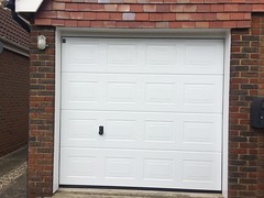 Hormann manual S panel in Icklesham. March 2015