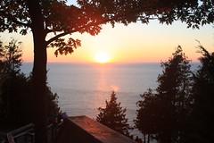 IMG_6951 (sjj62) Tags: sunset seascape doorcounty sunsetting doorcountywi 40d ellisonbaywi ellisonbluffstatenaturalarea