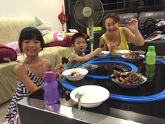 Roast duck dinner (Stinkee Beek) Tags: erin ethan yewyen