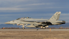 """Boeing F/A-18F Super Hornet of VFA-11 """"Red Rippers"""" from NAS Oceana (Norman Graf) Tags: red plane airplane fighter aircraft nfl attack jet hornet boeing f18 usn nasoceana rippers fa18 navalaviation unitedstatesnavy superhornet fa18f f18f redrippers nasfallon vfa11 knfl 166627 ab112 strikefightersquadron11"""