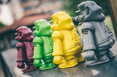 8 (NaugthyBrain) Tags: pig shanghai arttoy designertoy artfigure hiphopart resintoy tianpeng arttoyculture naughtybrain akacuriousboy