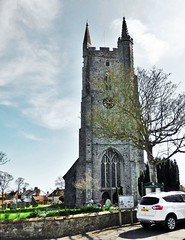 All Saints, Lydd (grassrootsgroundswell) Tags: church kent churchtower churchyard lydd englishparishchurch