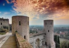 Porta Venere-Spello (Pg) (Rizzi Andrea) Tags: panorama mura umbria spello