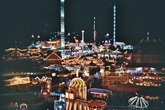 Winter Wonderland (RoYaLHigHnEsS1) Tags: color canonav1 london film wheel fun lights iso 200 hydepark agfa attractions winterwonderland carusel