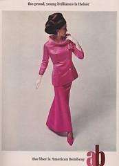 American Bemberg 1965 (moogirl2) Tags: vintage mod retro 1960s 1965 vouge vintageads 60sfashion vintagevogue americanbemberg