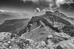 On the way (Luca Matassoni) Tags: travel wild sky blackandwhite italy cloud sun mountain mountains travelling nature clouds trekking canon landscape photography freedom landscapes cloudy hiking wildlife exploring horizon free sunny bluesky wanderlust traveller mount explore photograph trento canon5d rays bandw wandering cloudporn trentino flares biancoenero clearsky traveler naturephotography landscapephotography trecime bondone samyang skyporn wildandnature samyang14mm