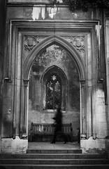 Creepy (AndreArma) Tags: street leica blackandwhite film monochrome voigtlander gothic 15 creepy hp5 mm 50 ilford m6 nokton