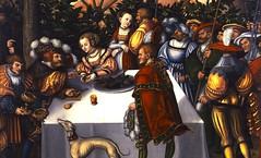 Cranach d. A., Lucas - Judith an der Tafel des Holofernes. c.1531_Gotha, Schlossmuseum Schloss Friedenstein, Gemaldesammlung (gorbutovich) Tags: religious highresolution salome
