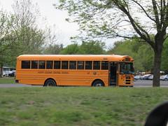 North Colonie Central School #62 (ThoseGuys119) Tags: schoolbus blackout albanyny tintedwindows thomasbuilt saftlineref northcoloniecsd