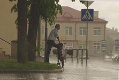 Navahrudak (Natali Antonovich) Tags: street portrait history rain bike architecture belarus oldtown oldest oldworld oldtime novogrudok navahrudak motherlandbelarus