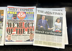 Brexit 3 (tezzer57) Tags: news newspapers eu brexit