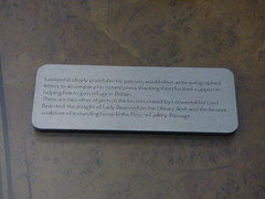 Upton House and Gardens - library - sign (ell brown) Tags: greatbritain england sculpture sign bronze unitedkingdom library nationaltrust warwickshire banbury countryhouse upton ratley uptonhouse gradeiilisted latemaybankholiday gradeiilistedbuilding williambumstead uptonhouseandgardens 2ndviscountbearsted bronzemedallions statelymanor lordandladybearsted percymorleyhorder lordbearsted marcussamuel bearstedfamily msamuelco bankingforvictoryacountryhouseatwar msamuelcolimited thecountryhousebank sirrushoutcullen smithsofwarwick professorarthurimmanuelloewental