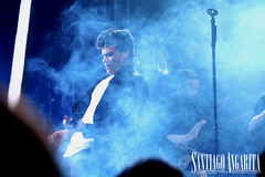 Silvestre Dangond (Santiago Angarita) Tags: blue music azul concert colombia colombian live smoke concierto sound singer msica silvestre cantante colombiano dangond