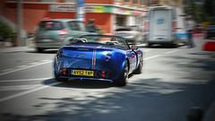 TVR Tamora (Tzo_alex) Tags: road blue martini convertible f1 montecarlo monaco cabrio sportscar tvr tamora 2016