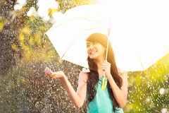 In the rain (Patrick Foto ;)) Tags: morning autumn sunset summer portrait people sunlight playing cute fall nature wet water girl beautiful beauty rain weather smiling female laughing umbrella season asian fun thailand outside happy person evening holding warm pretty day outdoor background space young lifestyle happiness drop rainy thai attractive concept cheerful playful copy enjoying raindrop