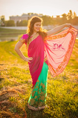 Indian wifey (PinkPetra) Tags: pink sunset summer portrait woman india color colour cute nature girl smile sunshine fashion lady female backlight canon hair outside 50mm outfit colorful hungary dress sundown fashionphotography outdoor designer indian dream young lifestyle style curly desi smiley 7d wife dreamy lovely hairstyle saree szeged sunflare streetfashion 3p suncity 2016 portraitphotography femine streetstyle portr portreature pinkpetraphotography horvthpetra
