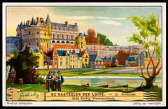 Liebig Tradecard S1272 - Chteau d'Amboise (cigcardpix) Tags: tradecards advertising ephemera vintage liebig architecture french