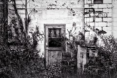 Abandoned (Crunch53) Tags: bw house building abandoned outdoors scenery detroit correction hardtimes dehoco